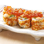 新橋しのだ寿司 - 「いくら鮭はらす巻」女性にも人気の巻物です!