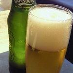 レストラン ストックホルム - カールスバーグはデンマークのビール☆