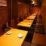 せかいち - 【半個室】テーブル席:9名様~80名様