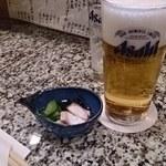 割烹 さくら庵 - ビール