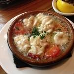 ラ オリーバ - ★9 鱈の白子とトマトのアヒージョ