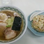 24565022 - チャーシュー麺半炒飯セット950円