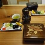 山尾 -  2014/2  竹重(肝吸い、お新香付)