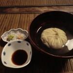 24565780 - そばがき(秋田県・横手産玄蕎麦)