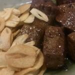 ステーキ杏樹 - 料理写真:黒毛和牛ステーキアップ
