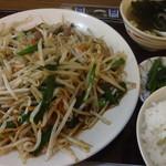 浪花屋 - レバニラ炒め:660円