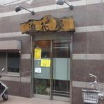 浪花屋 - 桜田通りを挟んで慶応大学の反対側の路地