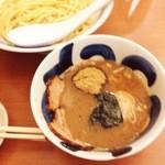 24568556 - つけ麺(780円)+味玉(月曜メンズサービス)