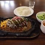 ステーキのくいしんぼ - アボカドハンバーグ