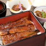 うなぎ料理 う玄武 - ごはんは石川県七尾産限定の「ワカバコシヒカリを使用◎