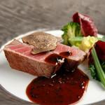 オーベルジュぶどうの木 - 料理写真:国産牛フィレ肉のステーキ