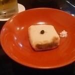 きんとき - 胡麻豆腐、大徳寺納豆