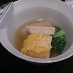 きんとき - 大根とゆば豆腐の炊き合わせ