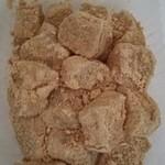 和菓子 榛名屋  - わらび餅     150円。別添で黒蜜も付いている。