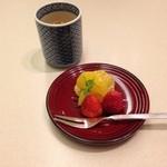 日本料理 矼 - さいごは果物で!