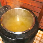 アメリカンダイナーオールドハンガー - スープはセルフで