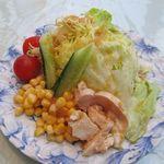 白い幻想 - サラダ