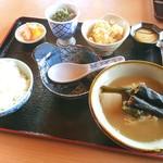 24573121 - とくじん(イラブー汁御膳)