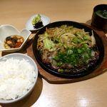 24576230 - 和風ステーキ定食(2014/02/28撮影)