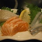 奴寿司 - 料理写真:刺身3種¥700