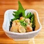 酒徒庵 - 2014.2 山うに豆腐(700円)