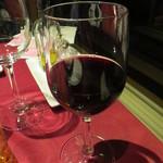 パッソ デル マーレ - 3本目は赤ワイン