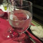 パッソ デル マーレ - 最後はお水