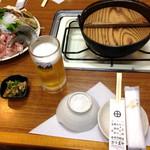 24581466 - ちゃんこ鍋¥2500セット(付だし、揚げ物4品付き)