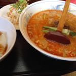 美華 - 初訪 担々麺ごま倍