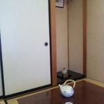 椎の木茶屋 - お部屋の片隅