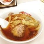 ラーメン九頭龍 - 雲呑麺@800