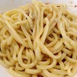ラーメン 虹の麺 - 虹つけ麺(大油)2014年3月