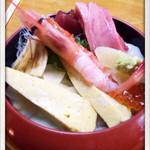 まぐろ家 - 料理写真:チラシランチ 1000円 2014.3