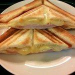 24588150 - ホットサンド(ハム・チーズ)