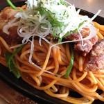 肉の万世 - パーコーナポリタン890円
