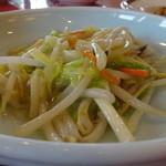 古奈青山 - 白身魚の天然塩塩炒め