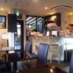 カフェ イ・ルンガ - ランチタイムや夕方からはしっかりイタリアンメニューも頼めるお店だったんすね。