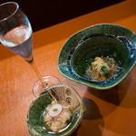 創和 織部 - 日本酒とお通し