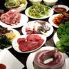 Yakinikukouboutsurumasa - 料理写真:焼肉宴会コース(飲み放題付き)⇒4000円