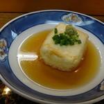 めぐみ鮨  - 揚げ出し豆腐