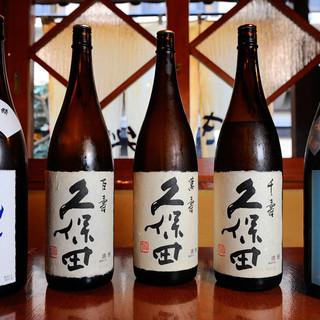 銘柄の日本酒をご用意!!