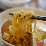 鶏白湯麺飯 暖家 - 醤油味はプリプリ仕上げ