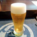 一善 - 生ビール