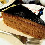 fusia cafe - パリパリチョコミルクレープ