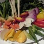 シチリアーナ - ◆鎌倉野菜のバーニャカウダ◆  美しい! 一目見て、まず口から出た言葉。