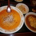 24600625 - バリューセット(坦々麺+天津飯)1000円