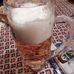 24601747 - 生ビールで乾杯〜♫
