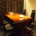 清粥小菜 明 - テーブル席