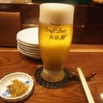 清粥小菜 明 - 料理写真:生ビールは熟撰