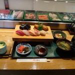 奴寿司 - 寿司ランチ1050円
